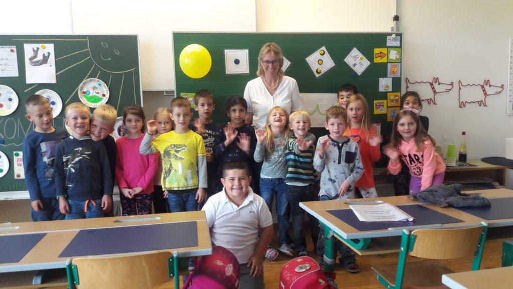 Schulbeginn 1B Doris Reitter